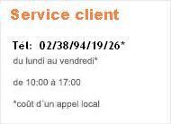 Téléphonne service client